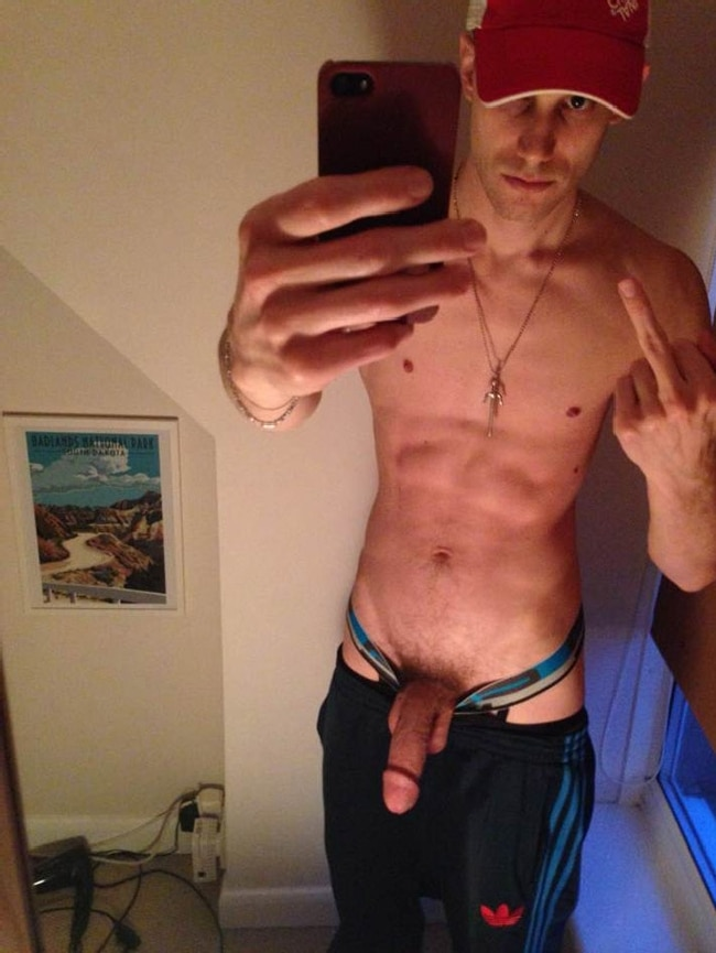 Jock With His Cock Out