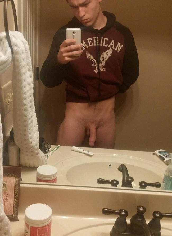 Nude Selfie In The Mirror