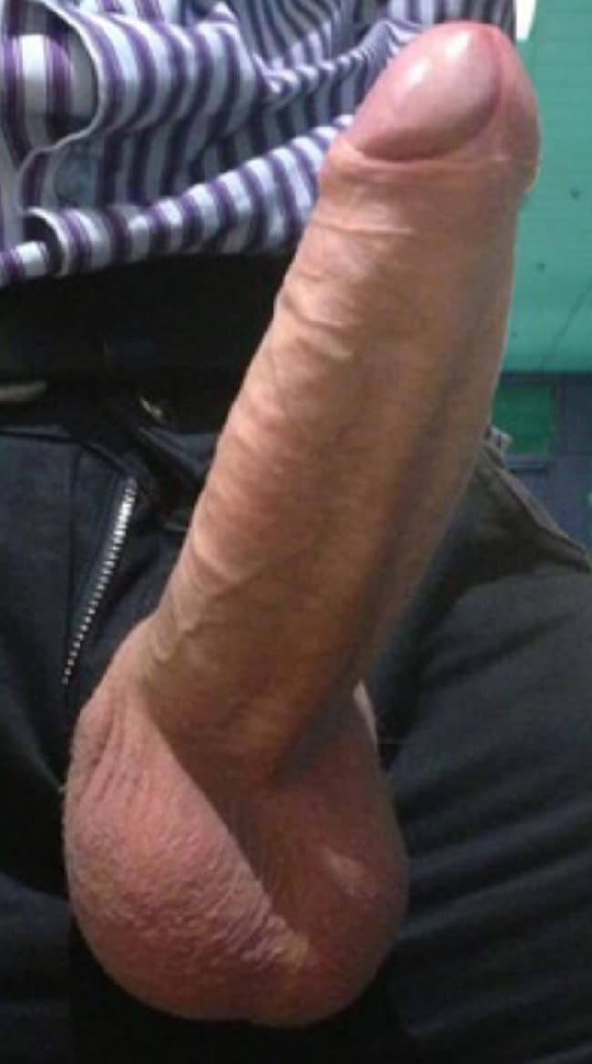 huge gay cock trouser bulge